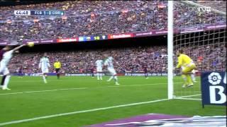 Barcelona - Cordoba Highlights HD 20.12.2014