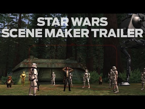 Star Wars Scene Maker - Game Trailer