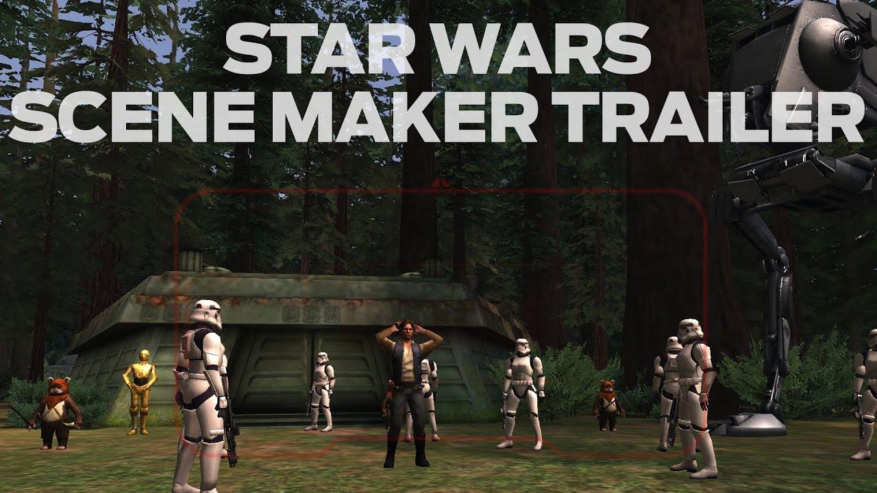 Star Wars Scene Maker Game Trailer Youtube