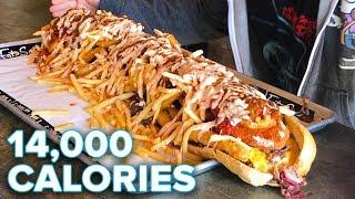 14,000 Calorie Sandwich