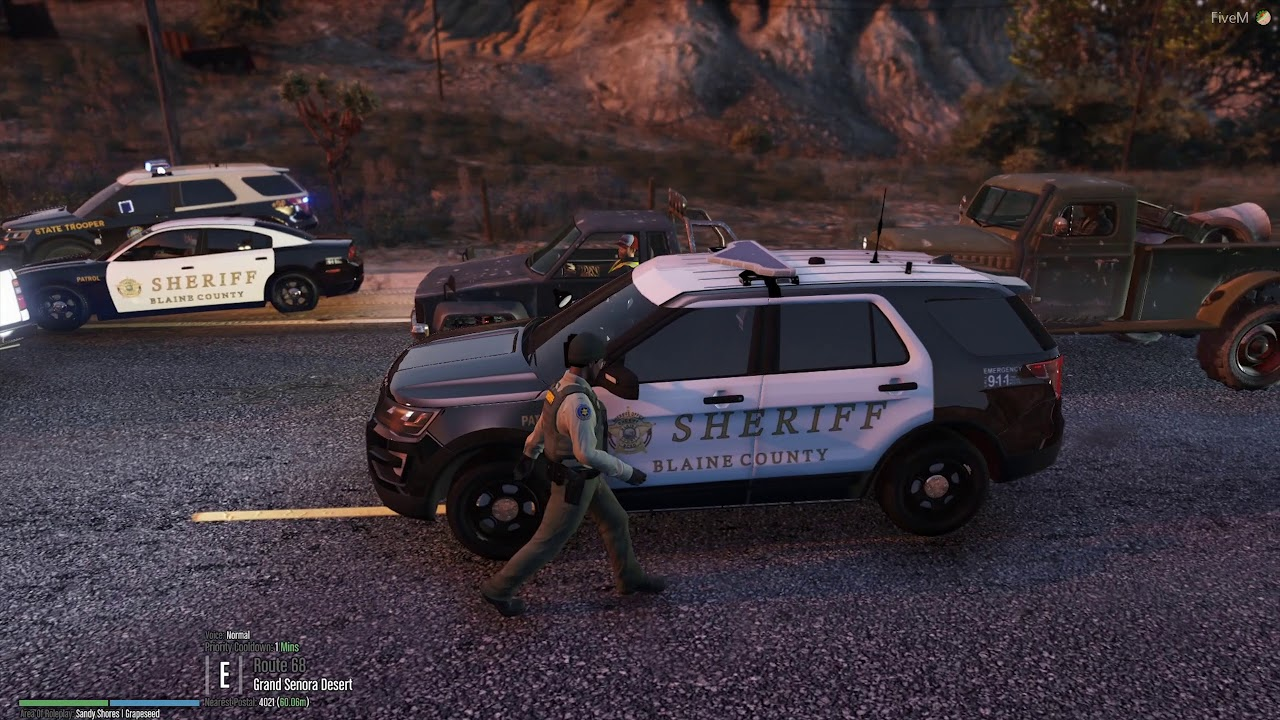 FiveM SAJRP Patrol EP:1