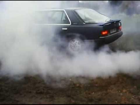 Palenie Gumy Renault 25 Zimna
