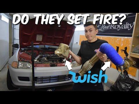 WISH Turbo Blanket & Heat Wrap Install! - Budget EG Hatch