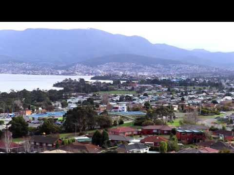 Time lapse of Hobart City