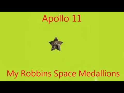 Robbins Space Medallions Apollo Through STS-107 - Travels With Phil Slideshow von YouTube · Dauer:  1 Minuten 33 Sekunden