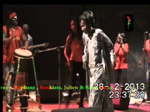 FULGENCE COMPAORE Live Tours 2013.Jardin de la musique (Reemdoogo) Burkina Faso