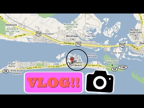 Atlantic Beach Vlog | StarryJ22