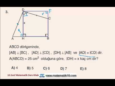 10.Sınıf Matematik Ders Kitabı Sayfa 193 Çözüm-3