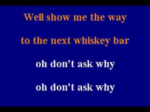 The Doors -  Alabama Song - Karaoke
