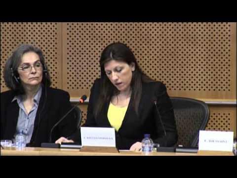 Restructuring Debt – Rebuilding Democracy -   Zoé Konstantopoulou - Parlement Européen - 1 mars 2016