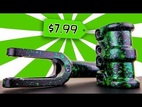 NEON GREEN SPLATTER PAINT ($8 DIY)