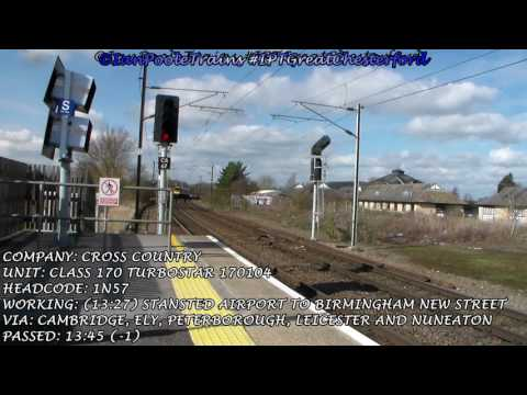 Season 8, Episode 90 - Trains at Great Chesterford station