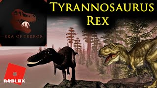 Era of Terror - Roblox Dinosaur Jeu - Premier Gameplay