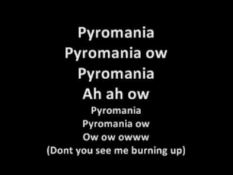 Cascada - Pyromania  LYRICS