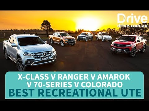 Ute Comparison: 2018 Ranger v X-Class v Amarok v Colorado v 70-Series