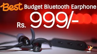 Best Budget Bluetooth Wireless Earphone @ Rs.999/- | Boult Audio Space | Data Dock