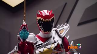 Titano Charge Megazord Debut Fight (Power Rangers Dino Super Charge)