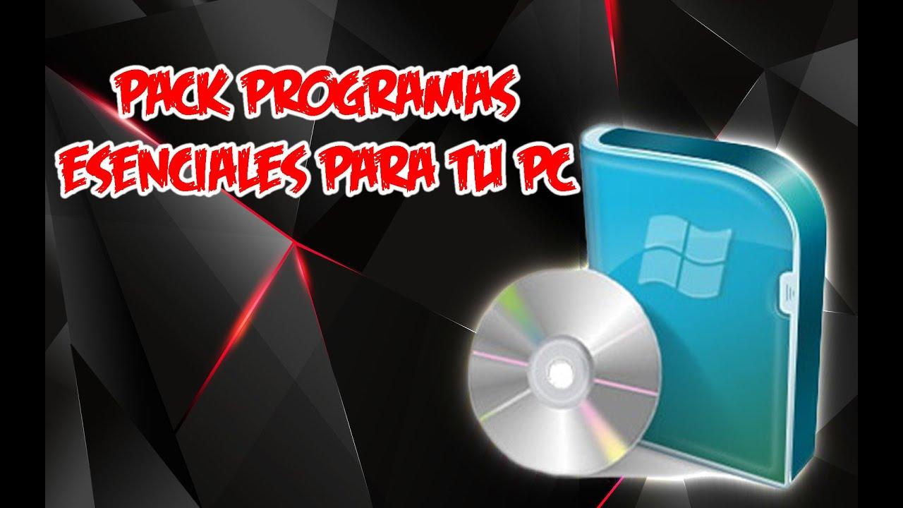 PACK DE PROGRAMAS PARA PC DE 32 Y 64 BITS TODO EN UNO WINDOWS XP | 7 | 8 Y 10 | 2015 y 2016