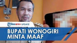 Video Skandal Hubungan Intim Camat Beredar, Bupati Wonogiri Ungkap Permohonan Maaf