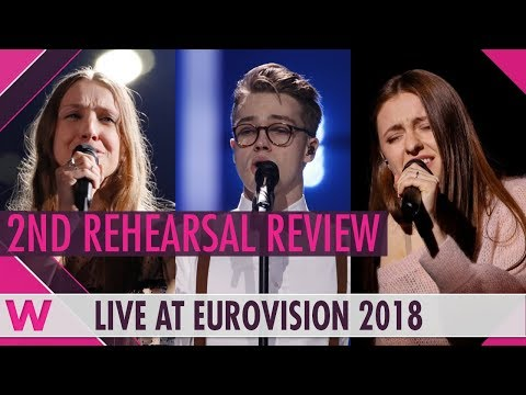 Second Rehearsals: Belgium, Czech Republic, Lithuania @ Eurovision 2018 (Review) | wiwibloggs