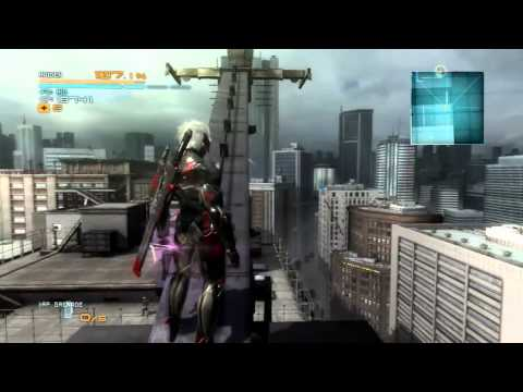 Game Riffs   Metal Gear Rising Revengeance Raiden Cuts Things To Fitting Unfitting Music |