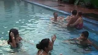 Familia Gamez galvis en las fuentes termales del Ruiz