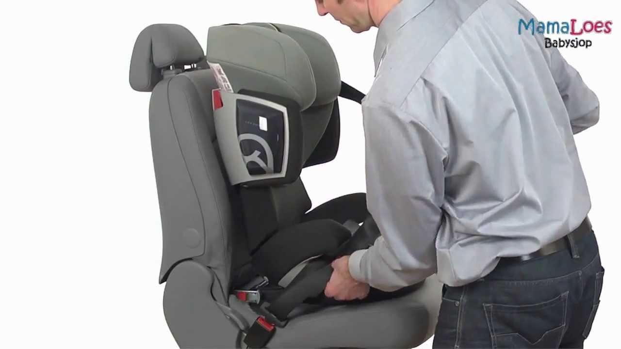 d9d9d89e093 Cybex Solution X2-fix Autostoel 15-36 kg - MamaLoes Babysjop - YouTube