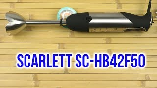 Распаковка SCARLETT SC-HB42F50