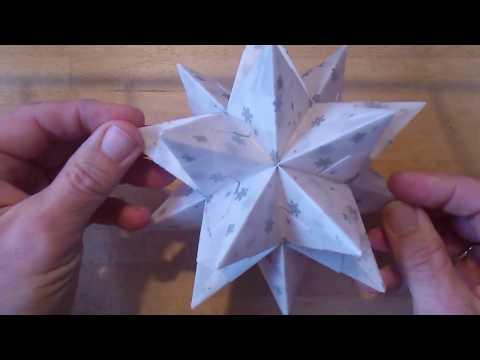 Bascetta-Sterne ohne Frust – 5. Sterne aus Transparentfolie – Tipps und Tricks: leichte Faltmethode
