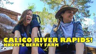 Riding Calico River Rapids! Onride POV! Knott's Berry Farm 2019