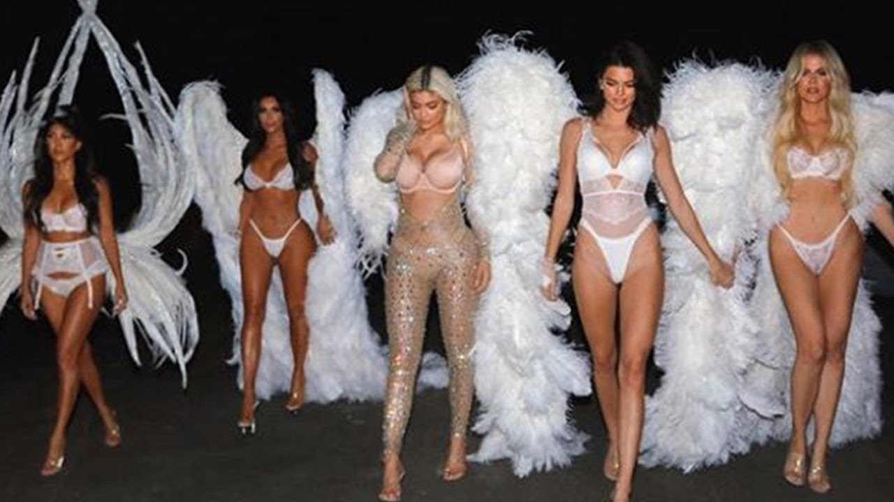 The Kardashian-Jenner Sisters Won Halloween with Epic Victorias Secret Angel Costumes
