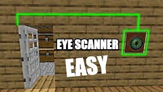 How to make a Eye Scanner Door in Minecraft! Easy! screenshot 3