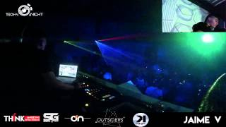 TECHNO NIGHT - JAIME V  - @ KOWEL CLUB - Lanzamiento Stacey pullen & Alex bau