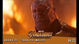 Vengadores: Infinity War de Marvel | Anuncio: 'Cara de malos' | HD