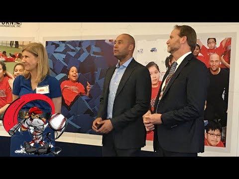 Derek jeter attends turn 2 foundation events