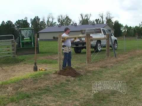 Field Fence Installation Part 1 of 2
