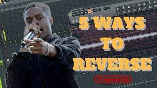 5 Ways 2 Reverse Melodies | Like Pierre Bourne | FL Studio
