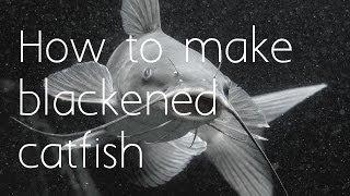 How To Make Blackened Catfish