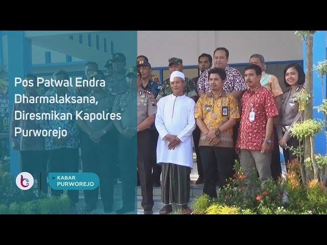 Pos Patwal Endra Dharmalaksana, Diresmikan Kapolres Purworejo