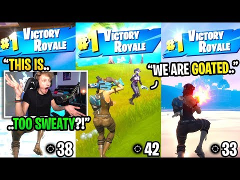 I Played A 3 YEAR OLD Gamemode And Got 3 BACK TO BACK Wins In Fortnite... (must See)