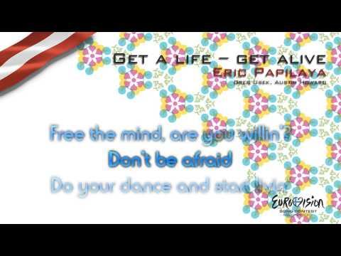 "Eric Papilaya - ""Get A Life -- Get Alive"" (Austria) - [Karaoke version]"