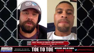 Frank Trigg pre-fight interview with UFC on FOX 26's Abel Trujillo