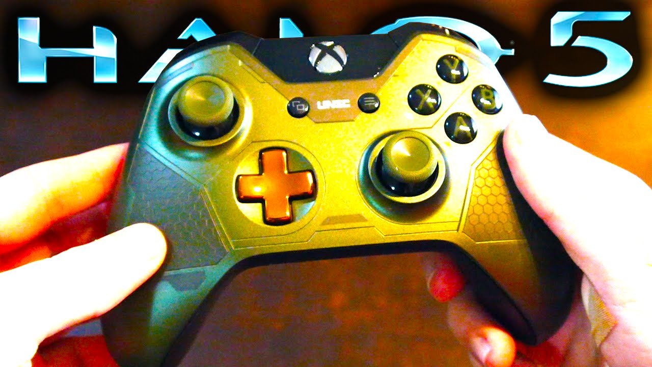 Halo 5 Master Chief Xbox One Controller Unboxing