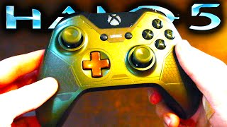 Halo 5 | Master Chief Xbox One Controller UNBOXING