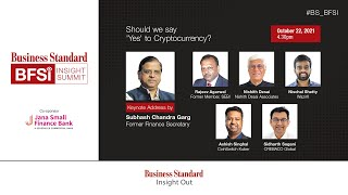 BS BFSI Insight Summit - Session on Cryptocurrency - Should we say 'Yes' to Cryptocurrency?