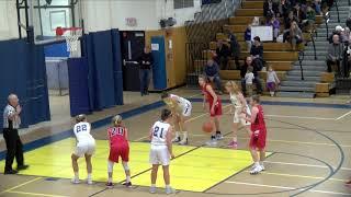 ABRHS Girls Basketball VS Waltham December 18, 2018