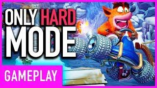 Crash Team Racing: Nitro Fueled - All Original CTR Tracks On Hard Mode