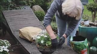 Garten/Terrassentischdeko