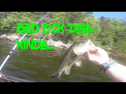 Random Bad Luck On The Water | Bass Fishing | Pomme De Terre Lake
