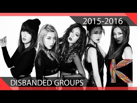 Top 15 Disbanded Kpop Groups We Miss 2015-2016